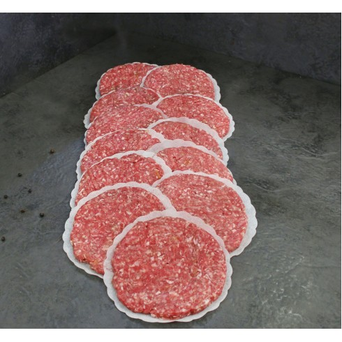 Beef Burger Packs